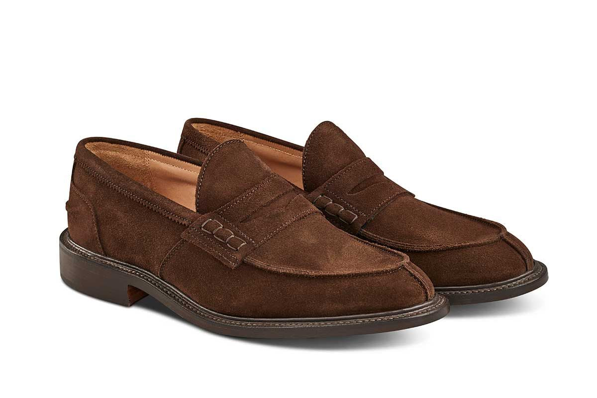 James Penny Loafer Chocolate Repello