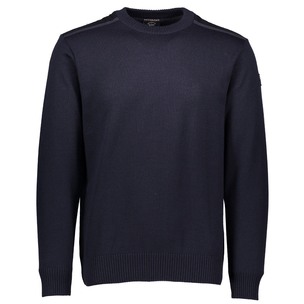 Plain Navy Crew- Large
