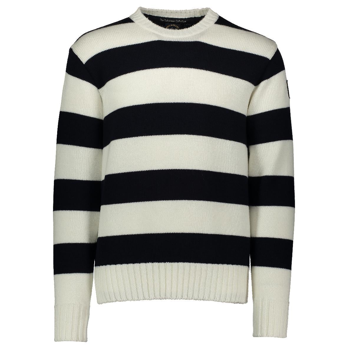 Round Neck Striped Knit