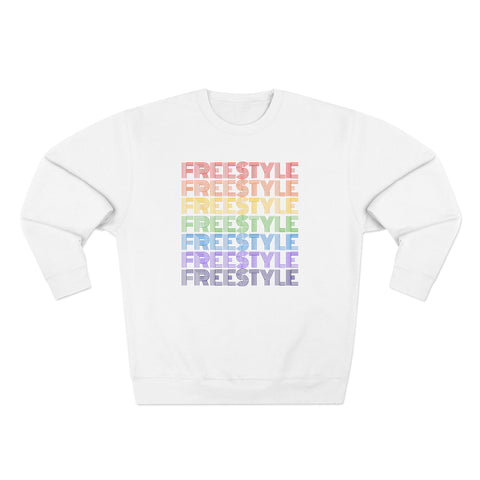 """Freestyle"" Stroke Pride Sweatshirt"