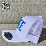 """FREE"" Hat - Freestyle (White & Blue)"