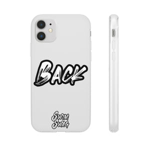 """BACK"" - Swim Swag Flexi Phone Case"