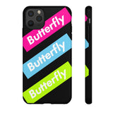 Butterfly Neon Swimple Phone Case