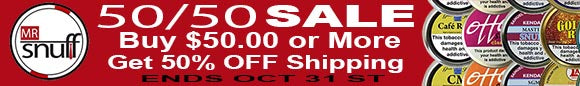 50/50 SALE. Get 50% off shipping with any purchase above $50.00.