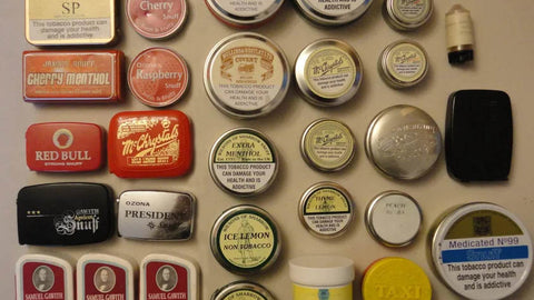 Touring your snuff collection