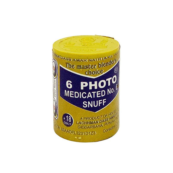6 Photo Medicated No.6 - MrSnuff