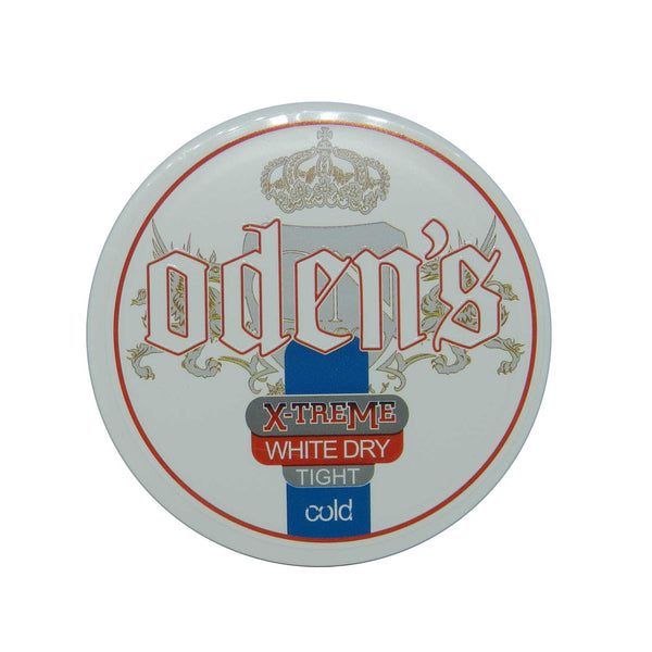 Odens Cold Extreme White Dry Tight Portion - MrSnuff