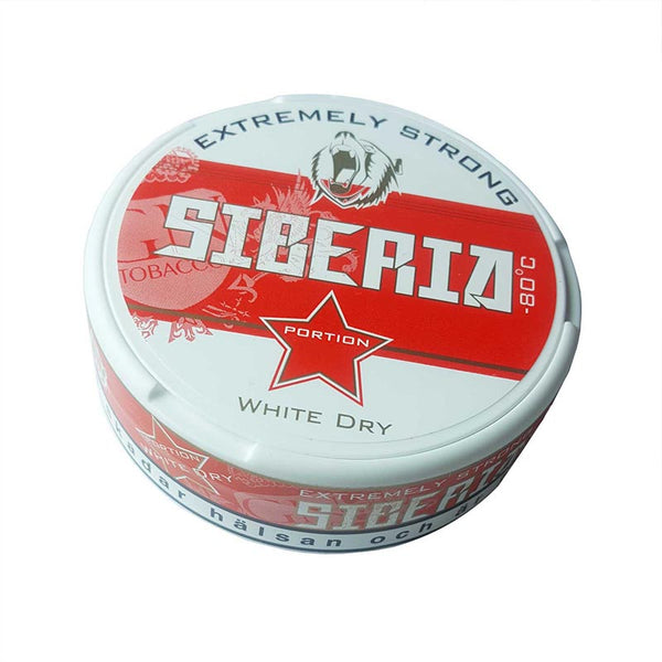 Siberia -80 Degree White Dry Portion - MrSnuff