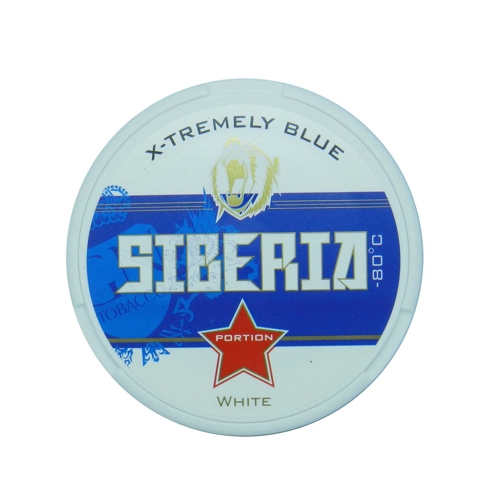 Siberia -80 Degree White Portion - MrSnuff