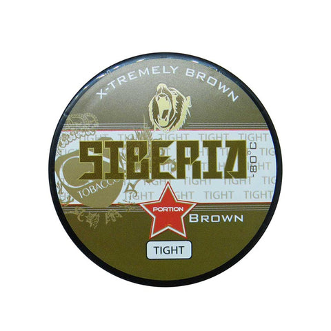 Siberia -80 Degree Brown Tight Portion - MrSnuff