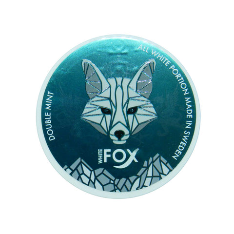 White Fox Double Mint White Portions - MrSnuff