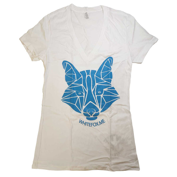 White Fox Women's T-Shirt - MrSnuff