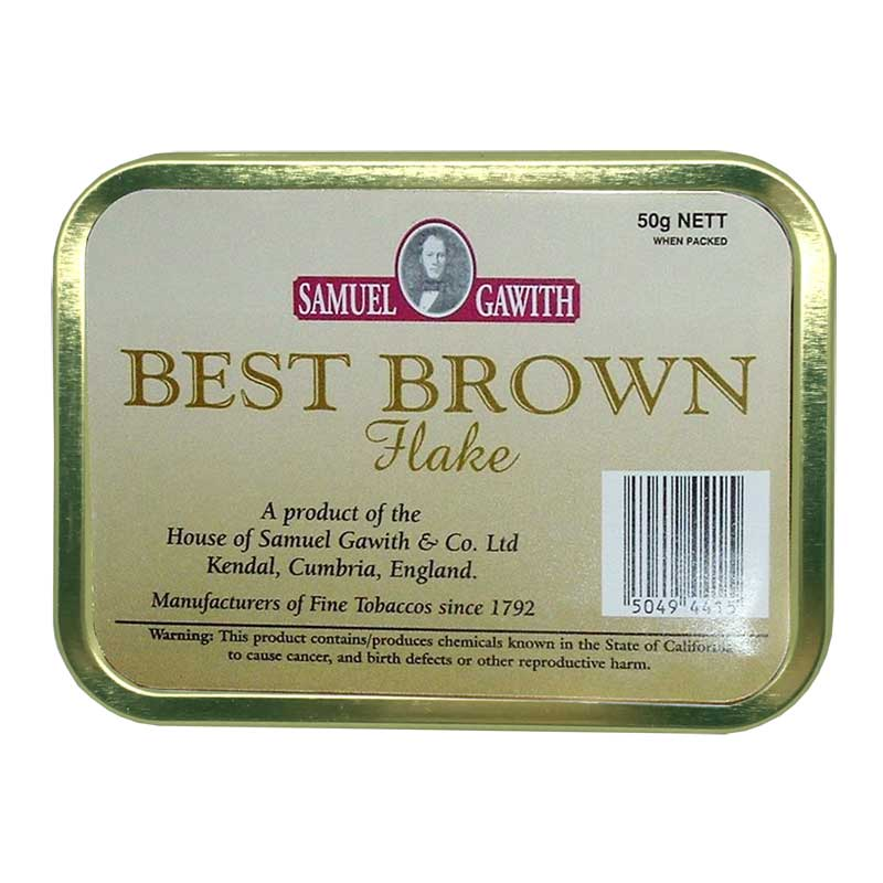 Samuel Gawith Best Brown Flake - MrSnuff