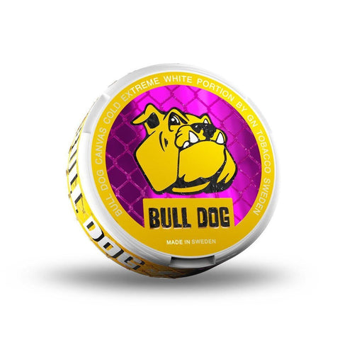 Bull Dog Canvas Cold Extreme White - MrSnuff