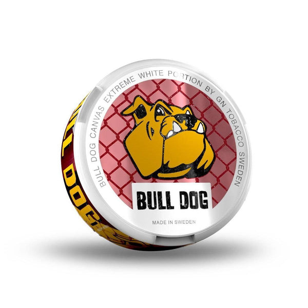 Bull Dog Canvas Extreme White - MrSnuff