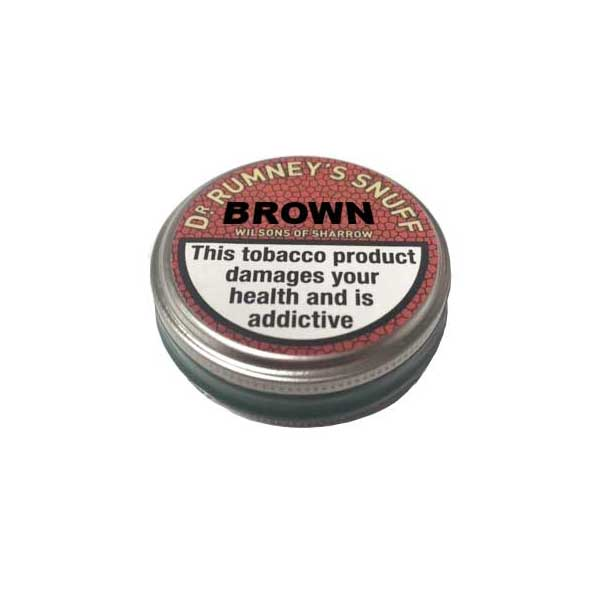Dr.Rumney's Brown - MrSnuff