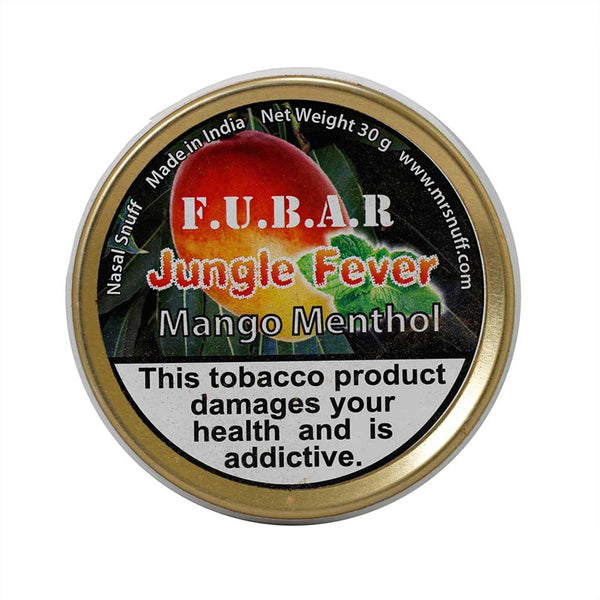 FUBAR Jungle Fever Mango Menthol 30g - MrSnuff