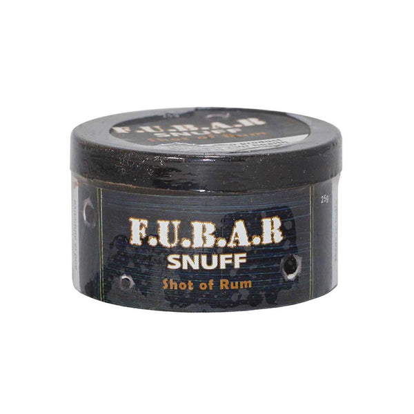 FUBAR Shot of Rum - MrSnuff
