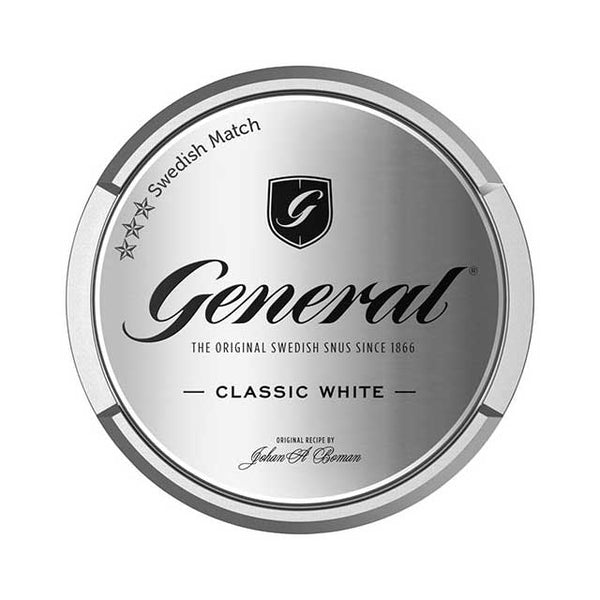 General Classic White Chewbags