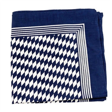 Diamond Pattern Handkerchief