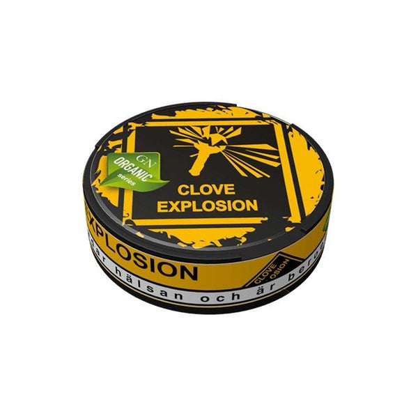 Odens Organic Series - Clove Explosion 18g - MrSnuff
