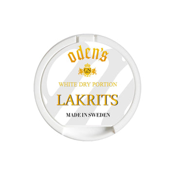 Odens Lakrits White Dry 10g