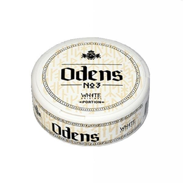 Odens No.3 Original White 15g - MrSnuff