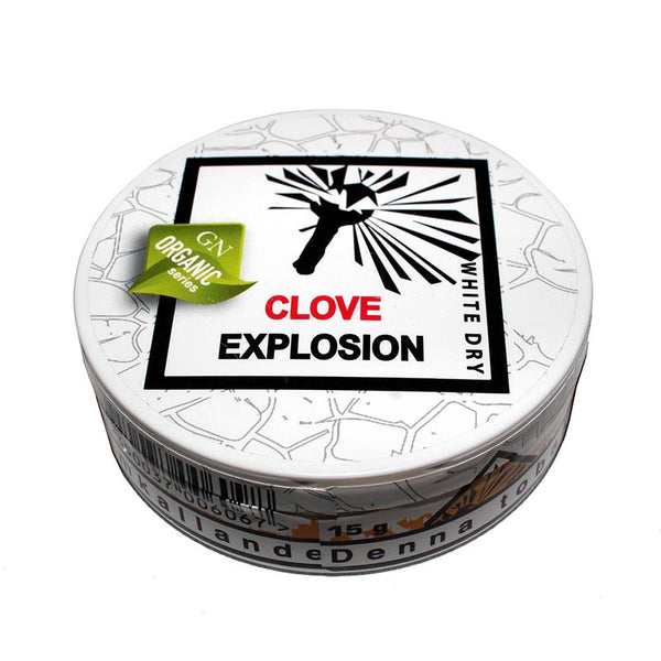 Odens Organic Series - Clove Explosion White Dry 13g - MrSnuff