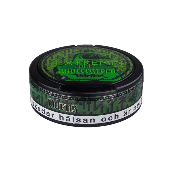 Odens Pure Wintergreen Extreme 18g - MrSnuff