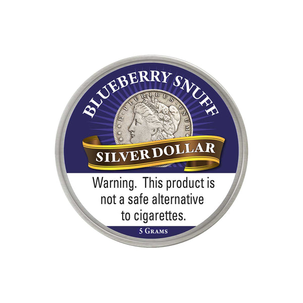 Silver Dollar Blueberry - MrSnuff
