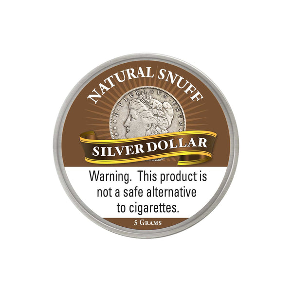 Silver Dollar Natural - MrSnuff