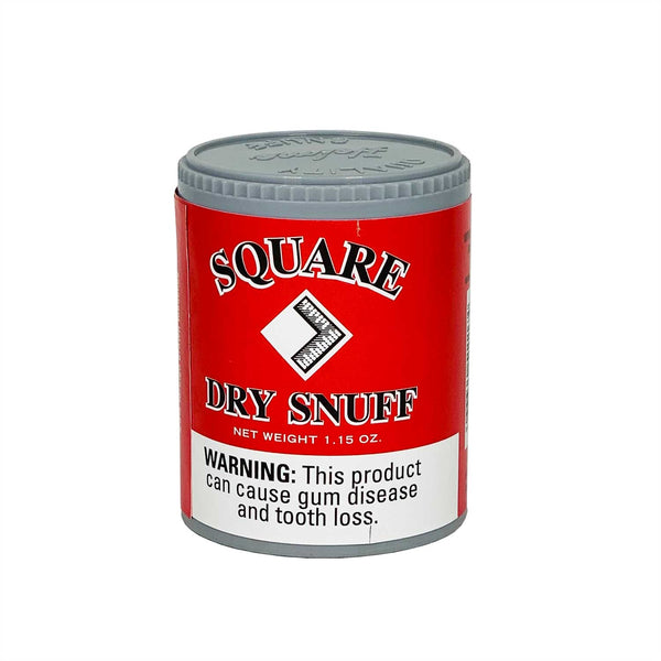 Square Plain 1.15 oz - MrSnuff