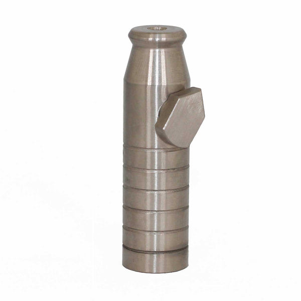 Stainless Steel Bullet Silver - MrSnuff