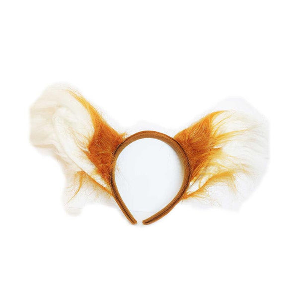 White Fox Headband - MrSnuff