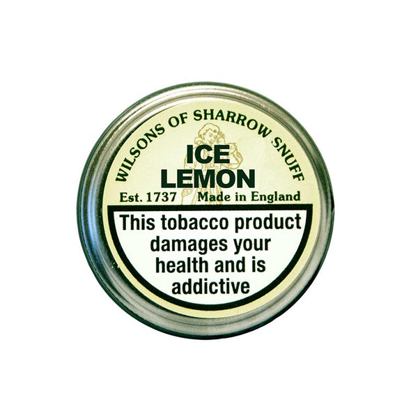 Wilsons Ice Lemon - MrSnuff