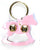 New Jingle Bell Rocking Horse Leather Door Knocker Decoration