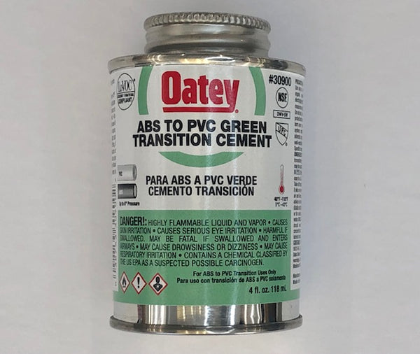 TRANSITION CEMENT PVC TO ABS