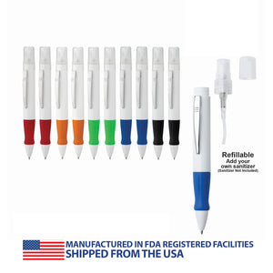 Refillable Sanitizer Pen-10 pack