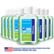 Load image into Gallery viewer, Hand Sanitizer 8oz Bottle - 75% Alcohol - 8 Pack