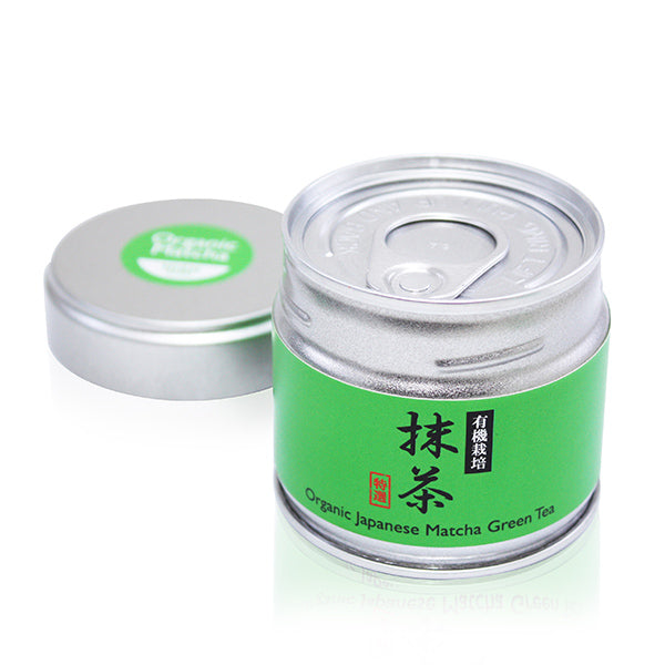 Organic Japanese Matcha Powder Tin