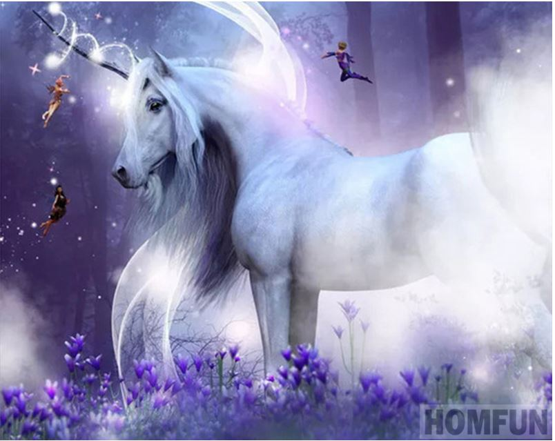 Amazing Unicorn Diamond Painting