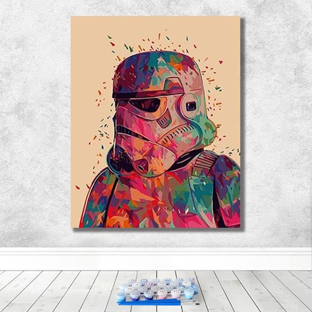 Star Wars Paint By Numbers (4794700562563)