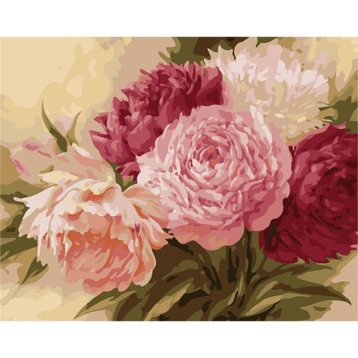 Peony Blossom Hand Made Paint High Quality Canvas Beautiful Painting By Numbers Surprise Gift Great Accomplishment (4780328648835)