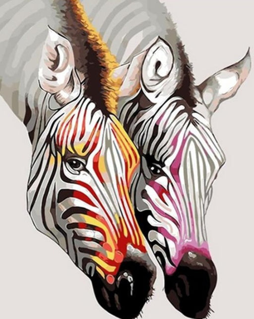 Zebra Animals Paint By Numbers (4921594151043)