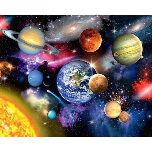 Earth and Space Paint By Numbers (4749700759683)