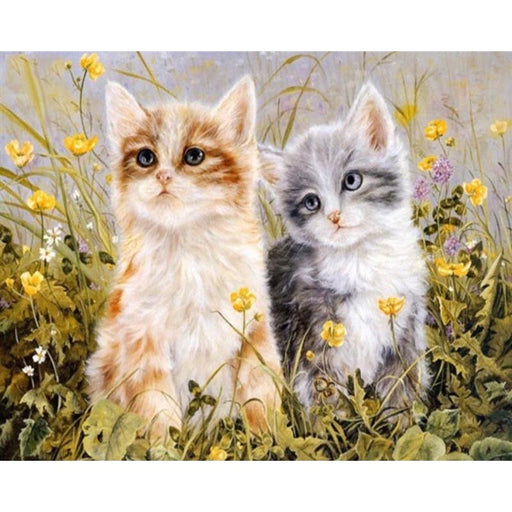 Cats in a Meadow (4720169451651)