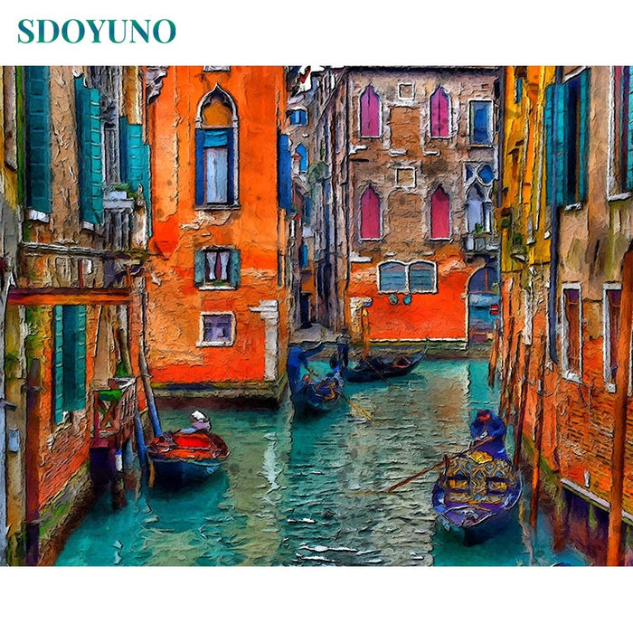 Venice Paint By Numbers (4916683899011)