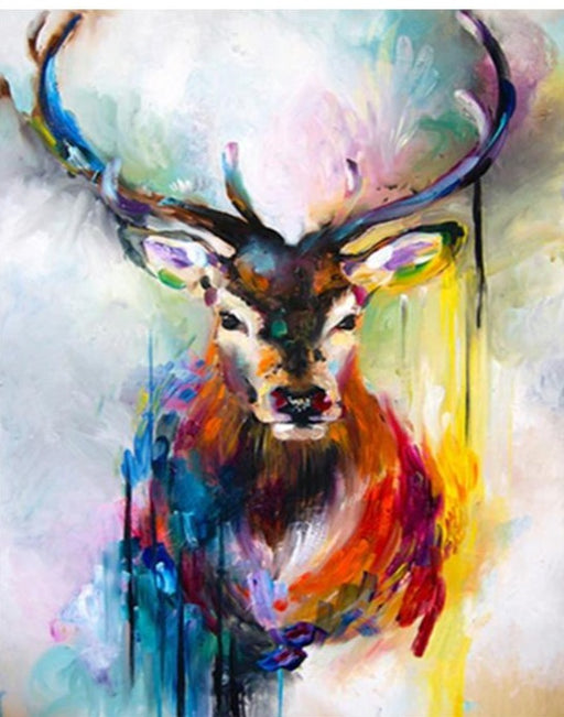 Bright Deer Paint By Numbers (4738347401347)