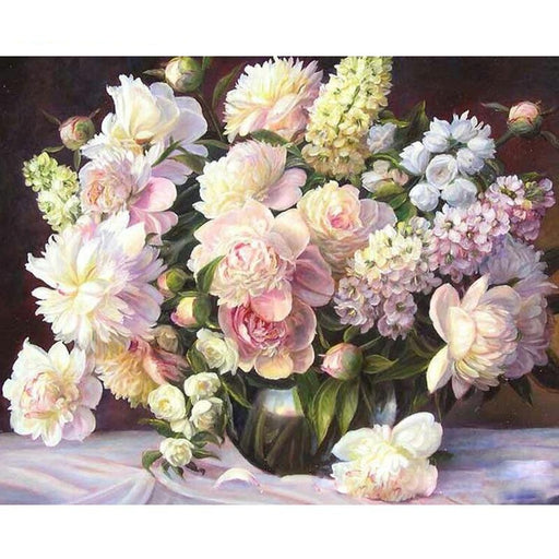 Pretty Flowers Paint By Numbers (4780328255619)