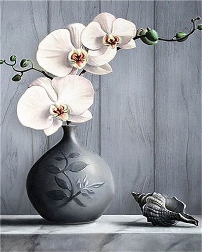 Flowers In Vase Paint By Numbers (4780328452227)